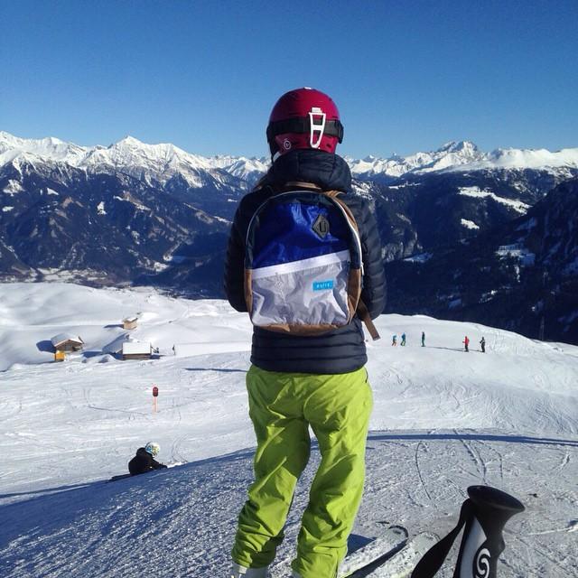 Up in the sky // @pacosavio team leader. #ski #Switzerland #shred
