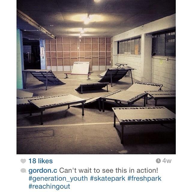 Repost @gordon.c Freshpark in Australia! #freshpark #skate #scooter #bmx #ramps #funbox #launchramp #quarterpipe #ramp #grindrail