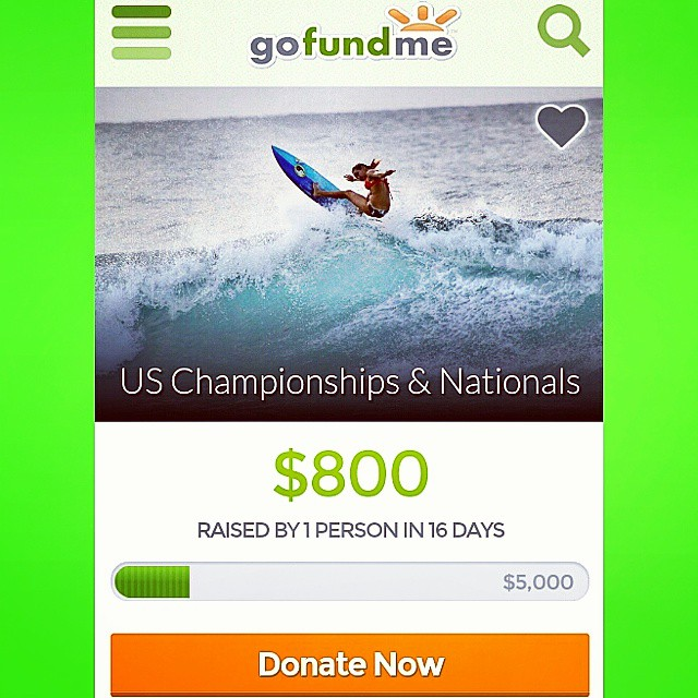 HELLO WORLD! Please donate and help support our team rider Hannah Blevins @surfgypsy on her way to the US Championship and Nationals! LUV SURF is SO STOKED on all of her achievements, and can't wait to watch as she shreds her way into the future!!...