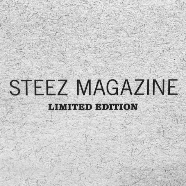 It's coming. Starting with issue 34 we'll be releasing limited edition artist series copies of every issue. More details coming, stay up.  You don't wanna miss these! #steezmagazine #issue34 #limitededition #artistseries #steez