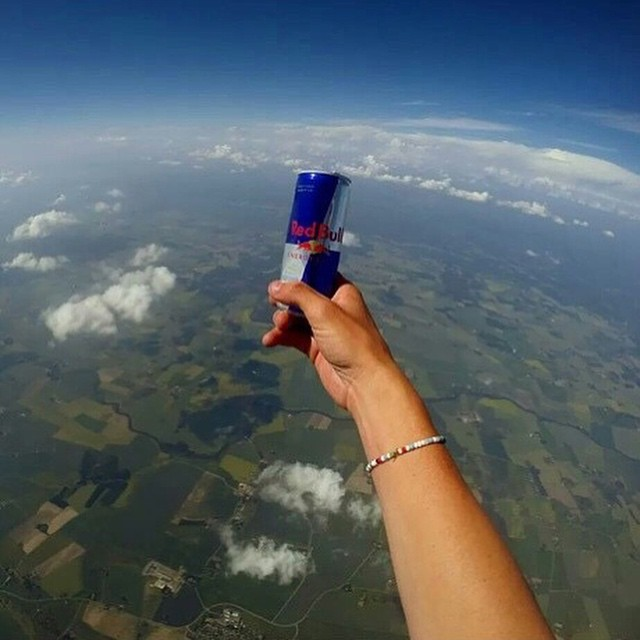 You might..wanna..open that..@freeflyguy! #GivesYouWings