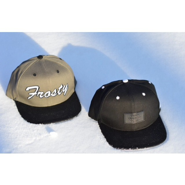 Shop now through the link in my bio. #FrostyHeadwear #Snapbacks #EmbraceYourOpportunity