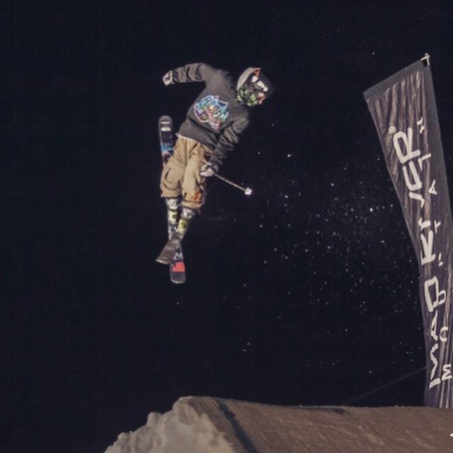 @freddymazza #madrivermountain #skiing #parklaps #spintowin @skimadriver #teamrider #capitalPARK #JustSendIt