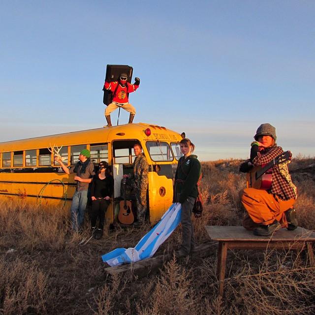 Introducing Landmark's prairie band: The Green Horns. #folkstyle #albumcover #ASCLandmark