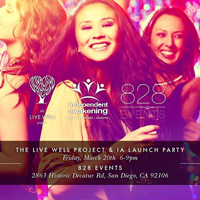 LUV SURF is excited to mingle with the minds behind The Live Well Project; and connect with the philanthropic San Diego community at their launch party! If you're in the area, make sure to get tickets and get involved! @theofficiallwp #loveyourselfie...