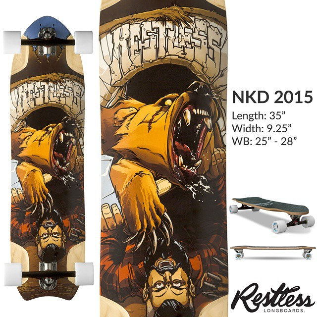 The Restless 2015 lineup is coming. Here is the 1st leak: the NKD 2015. Stay tuned for the rest. #restless2015leak