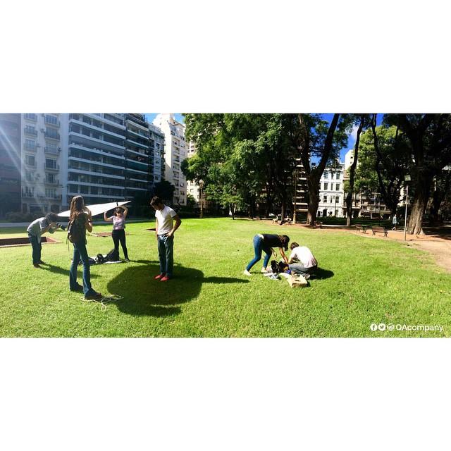 Un poco de lo que fue una gran jornada con @cuikafoto Muchas gracias chicos! #QuienSabedeActitud #ActitudQA #CUIKA #fotografia www.QA.com.ar