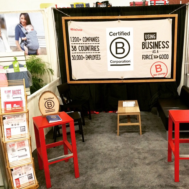 75+ Certified B Corps exhibiting at #ExpoWest this year all using business as a force for good. What do you think?