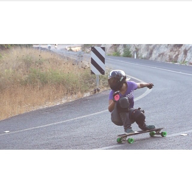 @ishtiish going FASSSSSTT in Israel !!! Can't wait to see OPEN by @longboardgirlscrew #keepitholesom