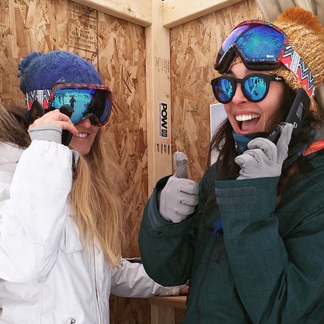 B4BC's @itsblairyoung and @lizatags are taking part in the #PhoneItIn campaign for @ProtectOurWinters at the #BurtonUSOpen! By calling your elected officials and asking them to support the Clean Power Plan, you can make a difference in your community,...