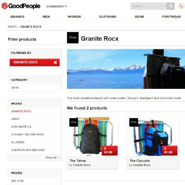 We are thrilled to say that we are now a new addition to an amazing community platform, the @goodpeoplelife Marketplace! Their platform brings together outdoors and action sports people from all walks of life, who do good.  So check out their...