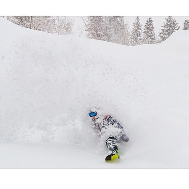 Here's to March #PowDays . @colin_spencer taking full advantage of the recent #WhiteRoom in #SteamboatSprings | @thelifersproject | @sbcomag @lettherebemusic | #ColoradoGram #ColoradoLivin