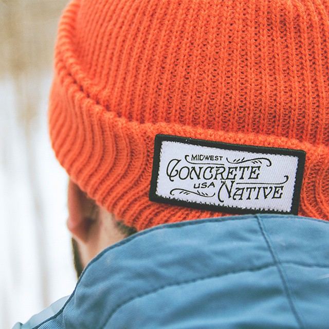 The Buckshot Beanie is perfect for keeping your head warm during weekend adventures. #concretenative #beanie #midwest #usa #adventures #realshitforrealpeople