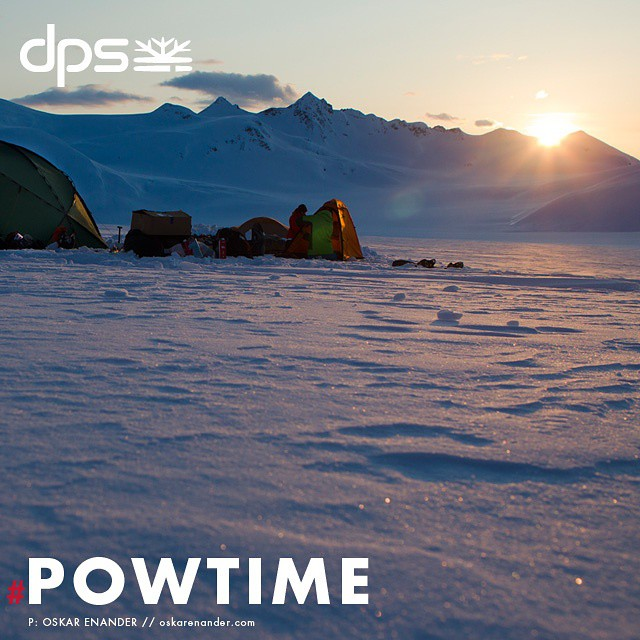 Alaska delivers like nowhere else in the spring. We're entering into the heart of #Powtime that historically delivers. Learn more at dpsskis.com.