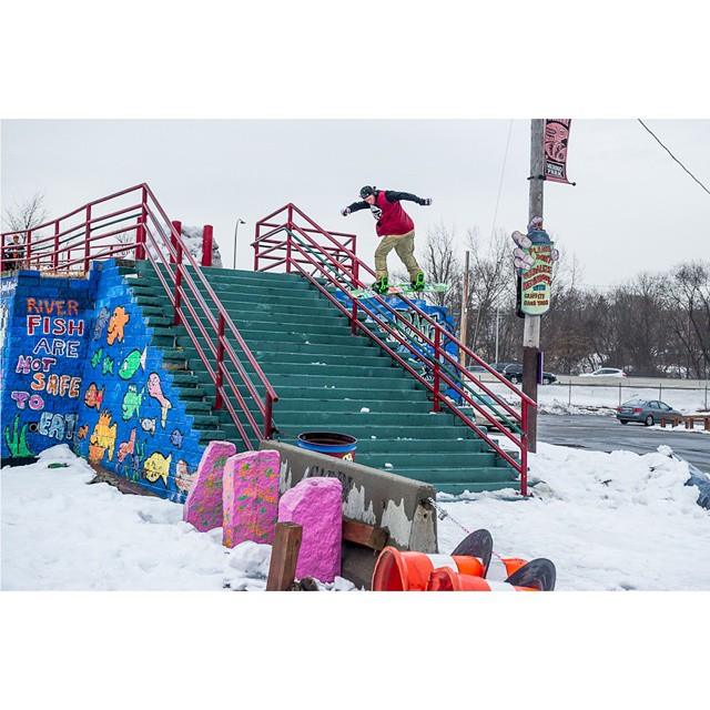 The 2015 #RealSnow gold medalist is @chris_grenier!  Click the link on our profile page to check out his full part. (