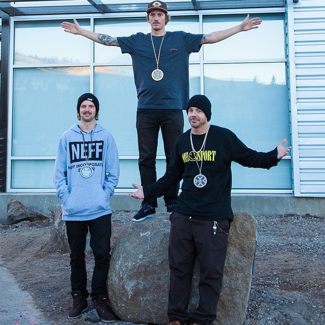 #RealSnow 2015: Gold – @chris_grenier and @patfenelon  Silver – @dylanathompson and @colet9  Bronze – @jeremy___jones and @trentludwig