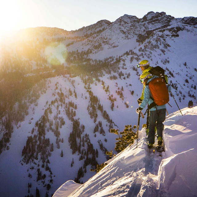 GZ Ambassador @carolinegleich out searching for early morning turns.  #GetOutStayOut
