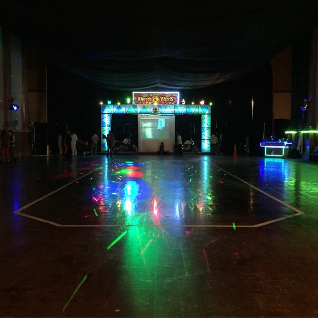 Last Dance. Last Chance For Love #rollerdisco #rollerskating #sanfrancisco #churchof8wheels
