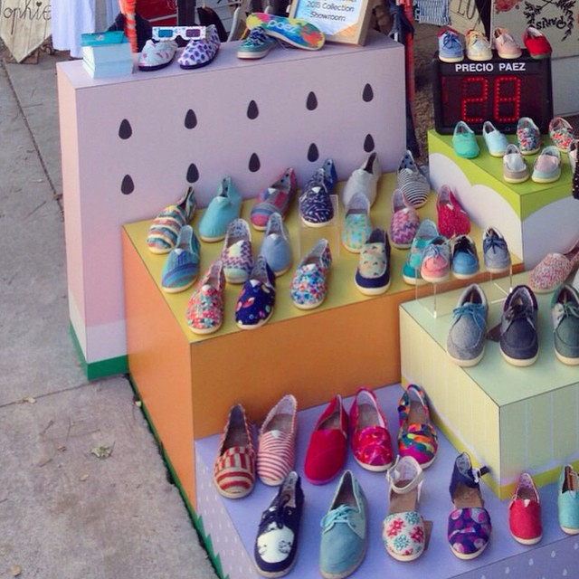 #Paez Pop Up Store at #paloaltomarket #technicolor #summer