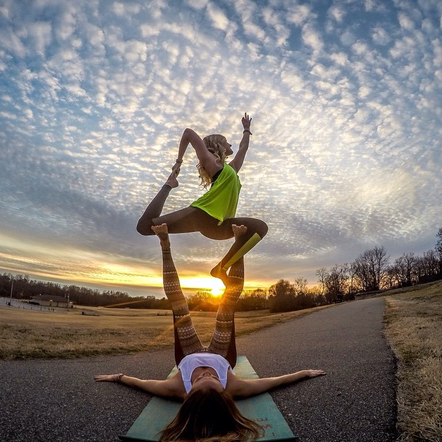 Photo of the Day! Happy International Women's Day!  Join us in celebrating the awesomeness that is women, today and everyday. Photo by @northcarolina_yogagirl #GoPro #GoProGirl #Yoga