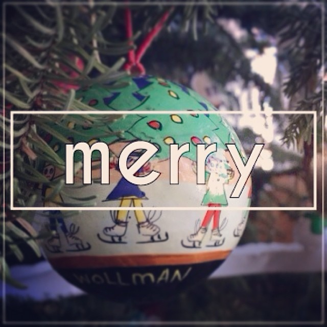 Be Merry. #merrychristmas #thebirth #hollyjolly #oldschoolornaments #trees #presents #mostwonderfultimeoftheyear #its84degreesout #classiccaliforniachristmas