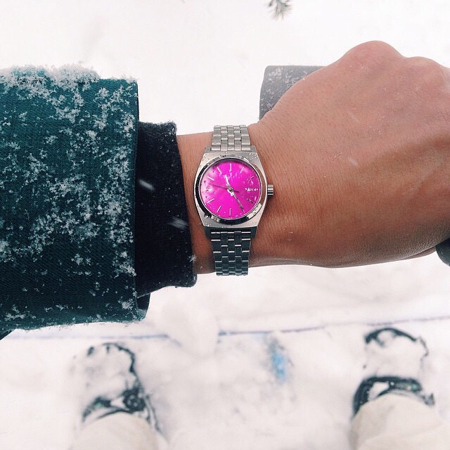 The Nixon X @b4bc Small Time Teller, shared and tagged #nixon from the #BurtonUSOpen by @lizatags.  Shop this limited edition collaboration benefiting @b4bc now directly with our link in bio: @nixon_now. #nixonxb4bc #smalltimeteller #b4bc...