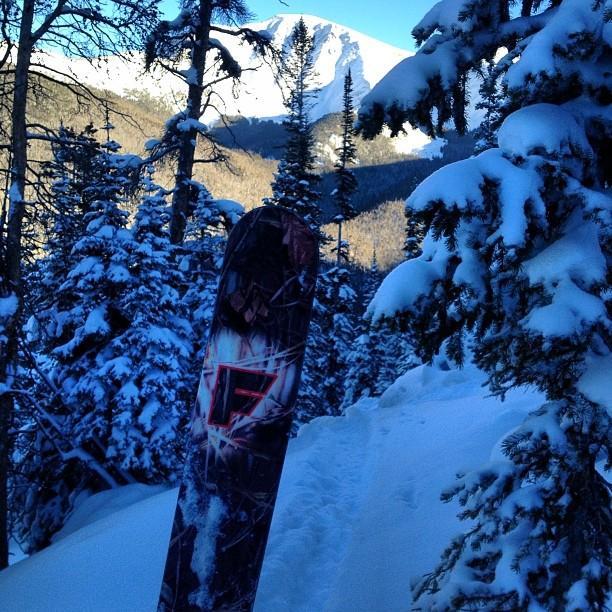Plenty of powder at Winter Park today... Merry Christmas everyone!