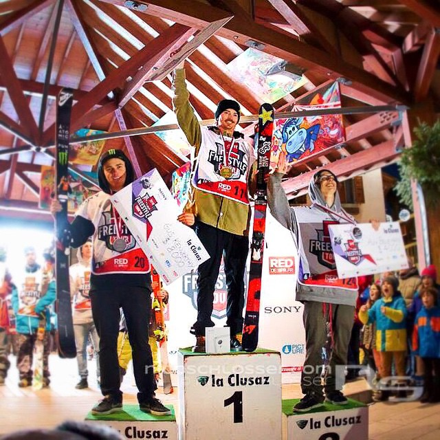 Our boy @mcrae_williams rocks the top of the podium at the SFR Freestyle tour  Kameleonz.com