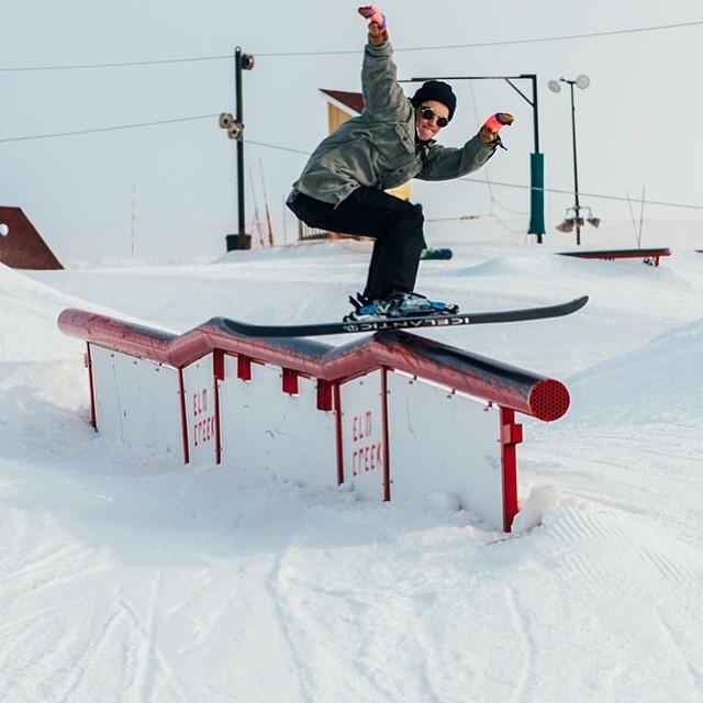 Team rider from #Minnesota @j_harington❄️#FrostyHeadwear #Skiing #ElmCreek #EmbraceYourOpportunity