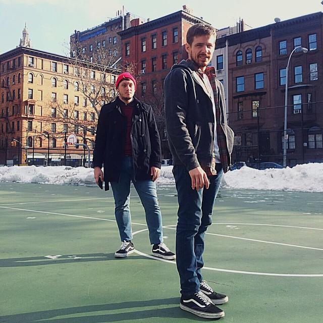 NYC por estas horas ❄️⛄️ #BeTheOriginal #Sidestripe #OldSkool