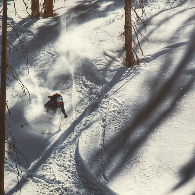 @jaywsss getting after the pow that's still left if you are willing to go for a walk in the woods.