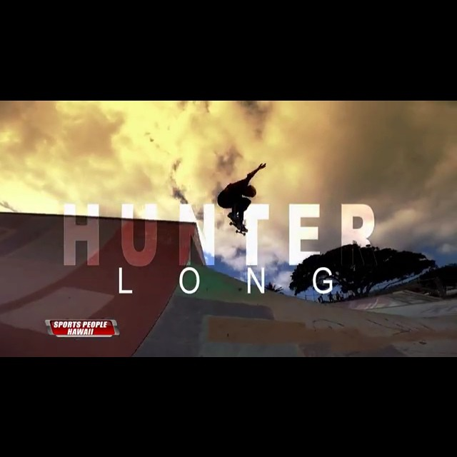 TV break: @huntahlong is featured on Sports People Hawaii! Ripping skater, great role model and teacher, Hunter makes a difference in her local skate scene in #Hawaii as well as anywhere she travels. Congrats Hunter!! You can see her feature here:...