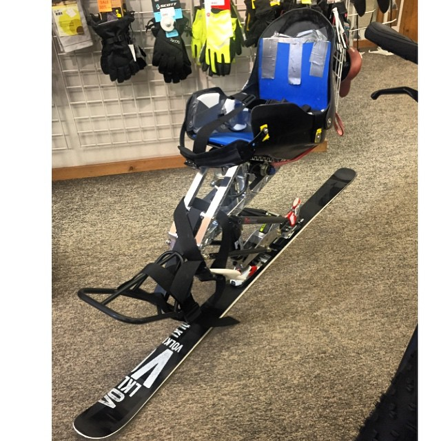 In February the #HighFivesFoundation's Board of Directors Grant Selection Committee approved a grant for #HighFivesAthlete @ez_rider15! TODAY Ezra received his new adaptive monoski equipment! THURSDAY you can give back to more High Fives Athletes in...