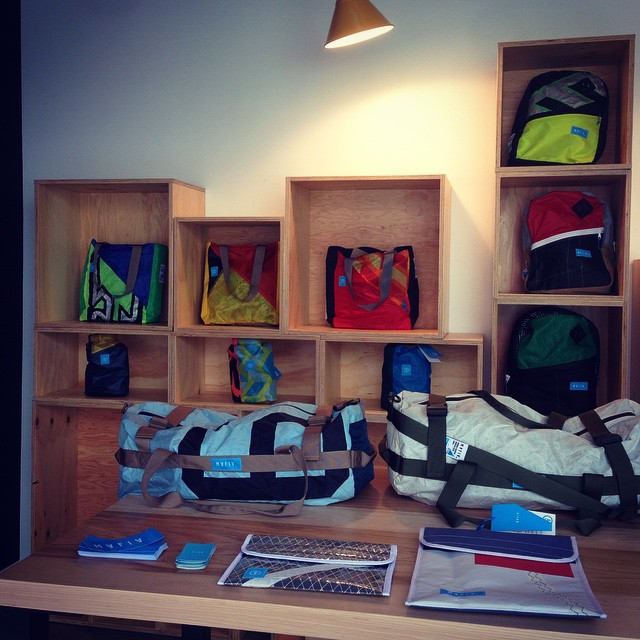 Mafia Pop-up Store at @instagram & @facebook headquarters // Tech engineers, come and say hi! #cuttingthewind #mafiabags