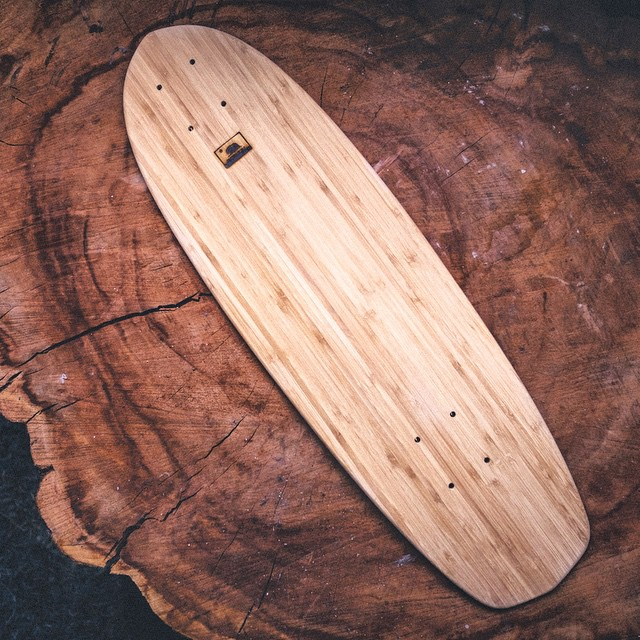 Our skateboards are made from sustainable materials with a major emphases on aesthetics and minimal designs that highlight the natural beauty of wood. #natural #log on #natural #log #naturallogskateboards #handcrafted #bamboo #cruiser #skateboard...
