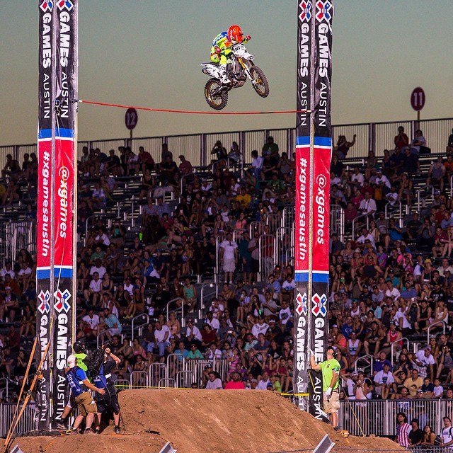 On May 1, there will be an open Moto X Step Up qualifier in Las Vegas.  Three riders will be invited to #XGames Austin! Click the link on our profile page to learn more. (