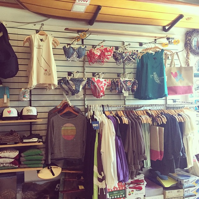 Shop #luvsurf at @islandsurfnado! Best surf shop in Coronado. #islandsurf #wearthecalidream #surf #sandiego #coronado