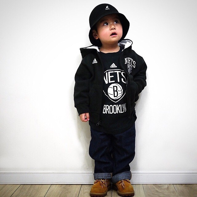 Raised In The Streets Of NY (via @nykids13 #kangol)