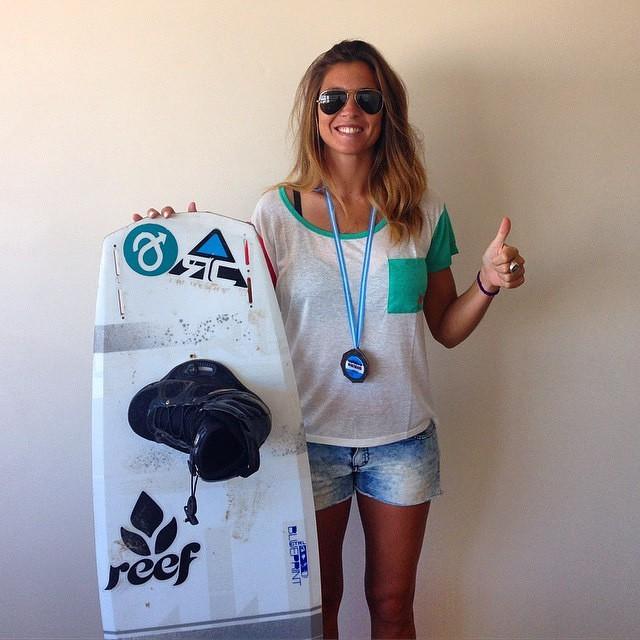 Les presentamos a nuestra nueva rider @sofygrimauu  Felicitaciones por el 1er puesto en la Copa Argentina! Vamos por más Sofy!!! #wakeboard #cablepark #wakepark #campeonato #argentina#copaargentina #reefargentina