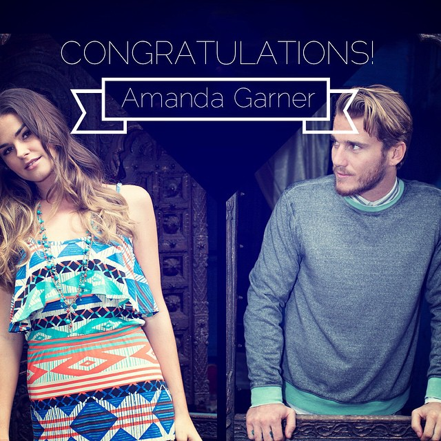 And we have a winner! Congrats Amanda and enjoy spending your$500 #spring wardrobe prize!
