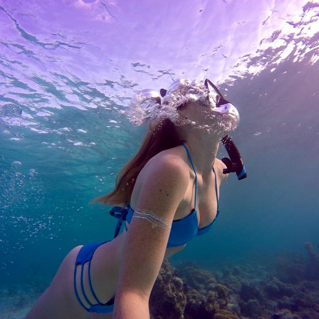 "@cillajohnson says ""Chasing mermaids!"" #gopro #gopole #gopolereach #diving #turksandcaicos"