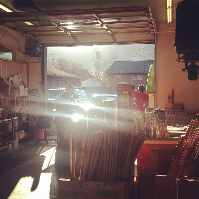 Let the #bambooskipoles dust fly. 50 degree open shop policy // #plantyoursoul  #prayforsnow