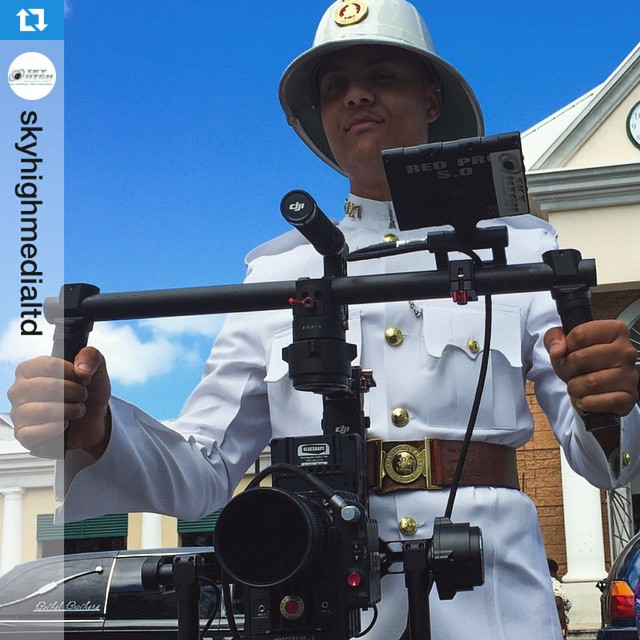 How the world uses the #DJI #Ronin. This week: #RoyalBahamasPolice  If they can do so can you! Join the Ronin workshop today: http://www.dji.com/roninws  Repost from @skyhighmedialtd