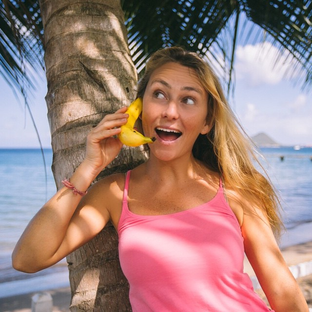 When you get to Dominica make sure you get @limedominica 4G cell service not banana!