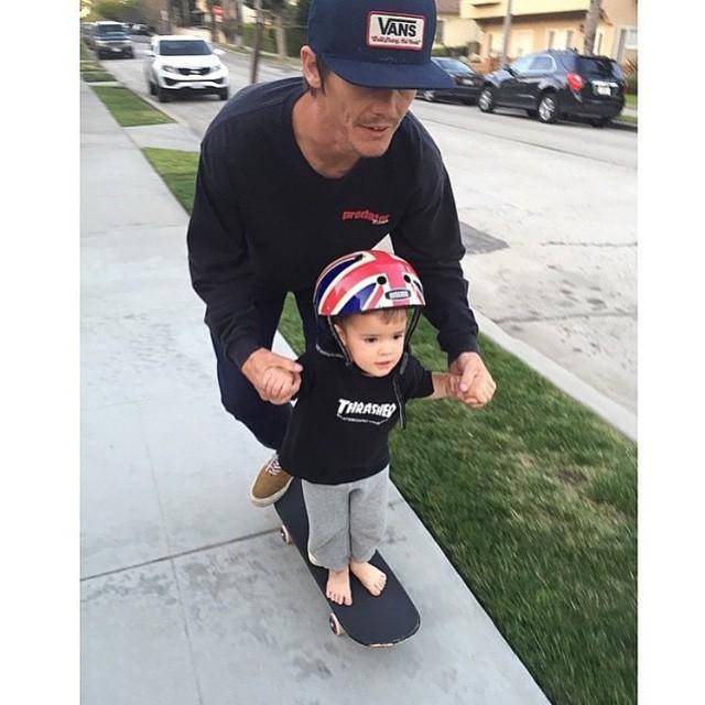 @geoffrowley, un papá genial