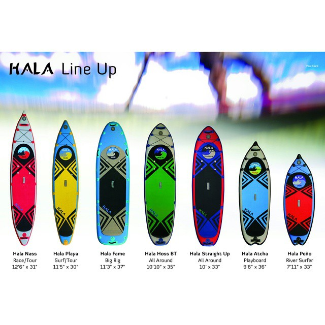 The line up! High quality inflatable boards for every adventure! #halagear  #halasup #adventuredesigned #whitewaterdesigned #supfishing #supeverydamnday #supsurfing #supyoga #sup #standuppaddle #supyeah #standupyoga #stand_up_paddle #riversup...