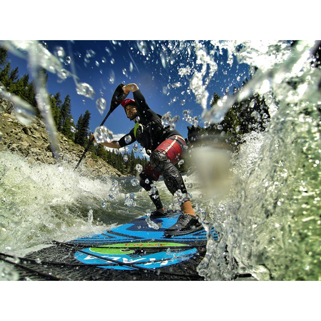 Peter Hall in the white room! #halagear #halaatcha #whitewaterdesigned #adventuredesigned #theweeklyinsta #inflatablesup #supeverydamnday #sup #supyeah #whitewatersup #whiteroom #standuppaddle #stand_up_paddle #riversup #repostmysup #gopro...
