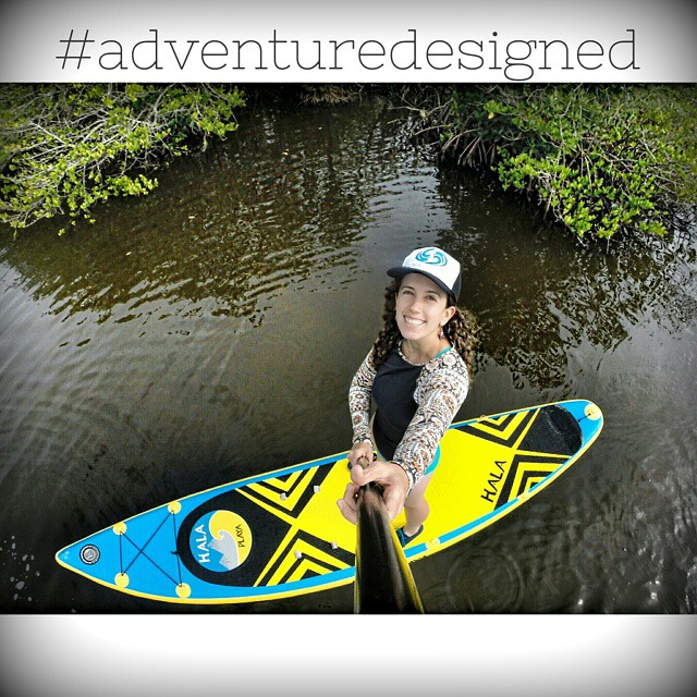 Hala Gear athlete Nadia Almuti exploring mangroves in Florida on the Hala Playa. Follow her at @gnardia #halagear #halaplaya #sup #standuppaddle #adventuredesigned #whitewaterdesigned #supyeah #theweeklyinsta #stand_up_paddle #repostmysup...