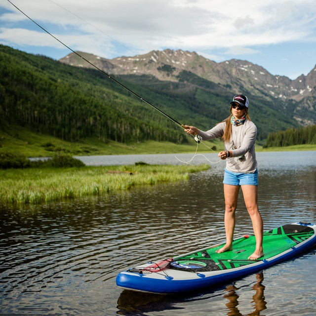 SUP fishing off the Hala Hoss. Photo: Zach Mahone #halagear #halahoss #standuppaddle #supfishing #sup #supweeklyinsta #stand_up_paddle #getoutside #repostmysup #adventuredesigned