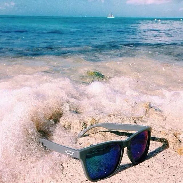 Another pair of sunnies almost gone to the sea || #theygofast #nectarshades
